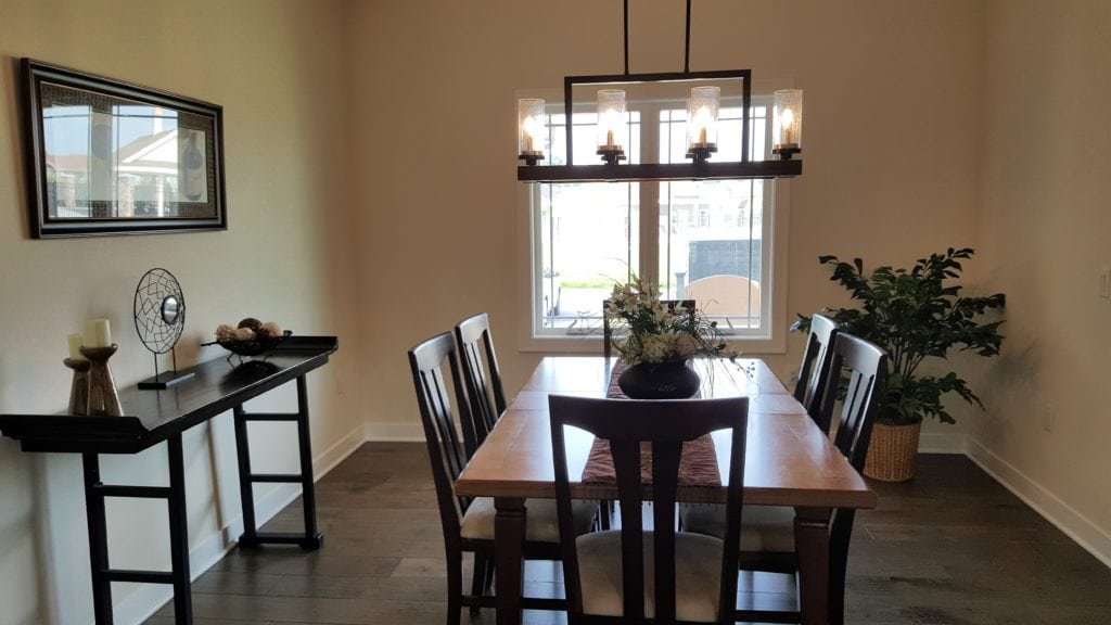 My Home Enters Into The Dining Room
